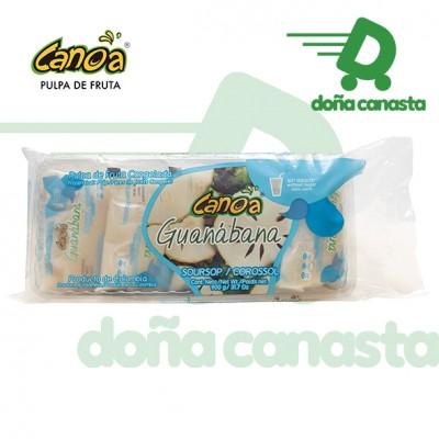 Pulpas Canoa Guanabana