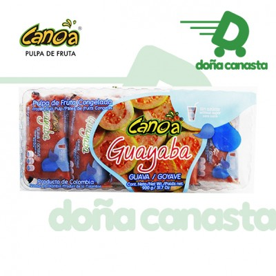 Pulpas Canoa Guayaba