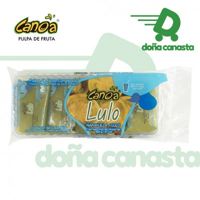 Pulpas Canoa Lulo