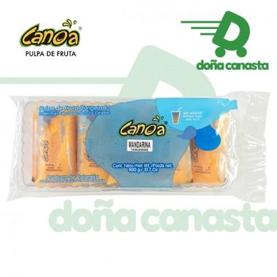 Pulpas Canoa Mandarina