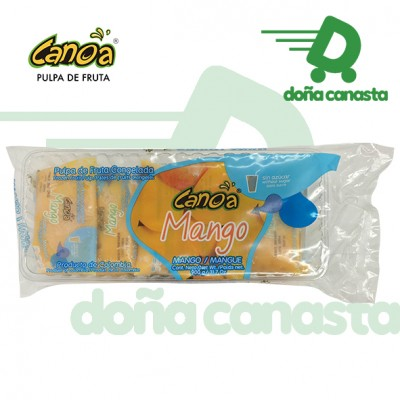 Pulpas Canoa Mango
