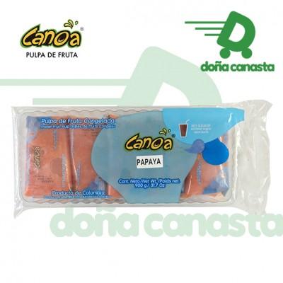 Pulpas Canoa Papaya