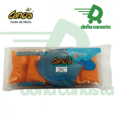 Pulpa Canoa Tomate de Árbol