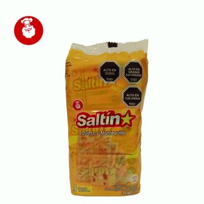Galletas Saltin Queso y Mantequilla 202 gr.